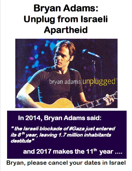 Bryan Adams screen shot